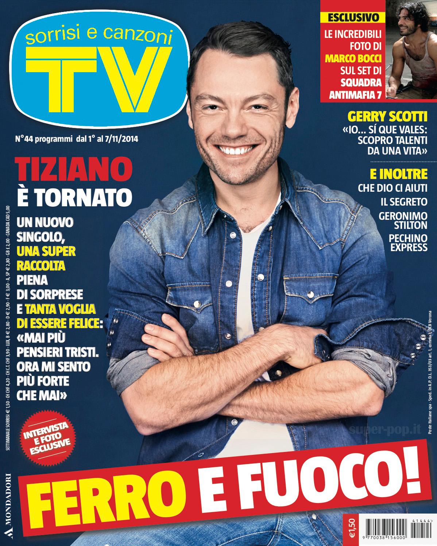 Family Day - Pagina 5 Tiziano-Ferro-TV-Sorrisi-E-Canzoni-n°44-01.11.2014